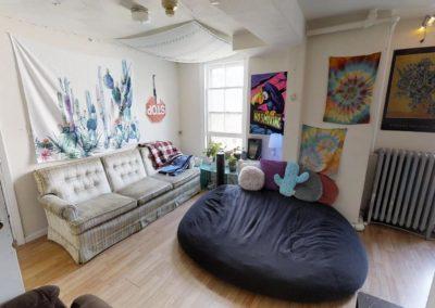 222 upstairs living room